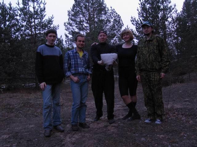 Участники 2-й метеоритной экспедиции