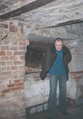 Дмитрий Бородаченков в Бернардинском монастыре