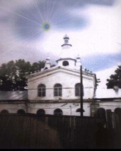 Уфокомовская реконструкция аномального явления над церковью