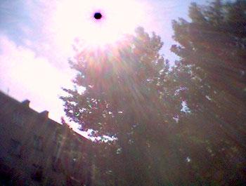 НЛО на фотокамере мобильного телефона