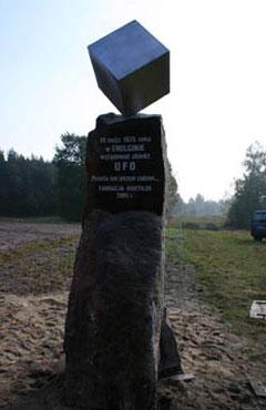 Памятник НЛО в Польше