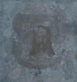 Пустынский монастырь. Изображение на стене