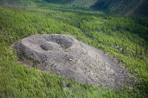 фото с места падения тунгусского метеорита
