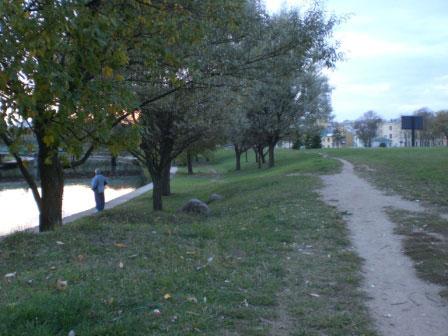 Современное состояние места, где ранее располагалось капище (фото В. Акулова).